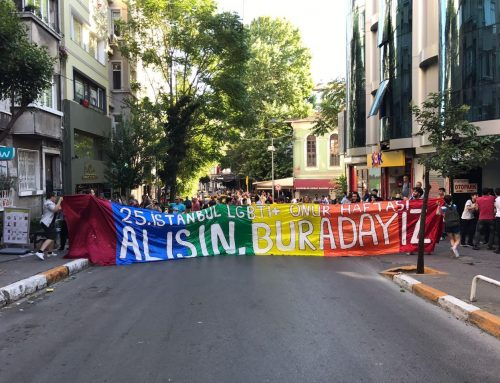 REALITIES ON THE GROUND  Interview with a Turkish LGBTQI+ Activist