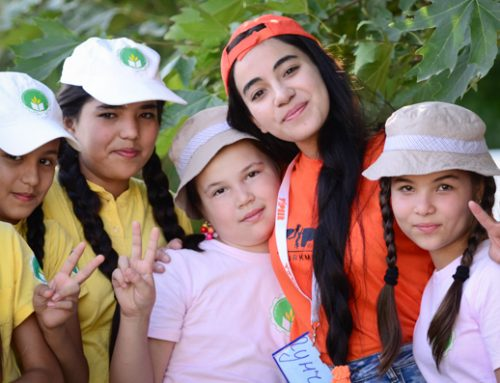 Promoting healthy living among peers in Turkmenistan